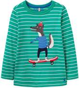 Joules Boys Jack Wolf Printed T Shirt