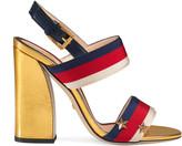 Gucci Grosgrain Web sandal
