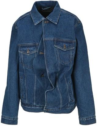 Y/Project Y / Project Draped Denim Jacket