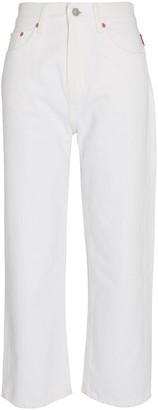 Denimist Pierce Cropped High-Rise Jeans