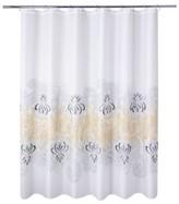 Nobrand No Brand Paisley Border Shower Curtain - Yellow (Print) - Allure