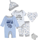 Baby Essentials Blue 'Never Want to Grow Up' Playsuit Set - Infant