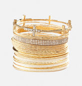 Avenue Cross Bangle Set