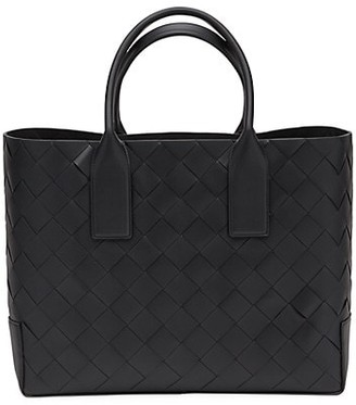 Bottega Veneta Intrecciato Quilted Leather Tote