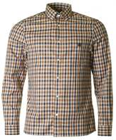 Aquascutum York Club Check Long Sleeved Shirt