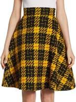 Miu Miu Full Circle Tweed Skirt