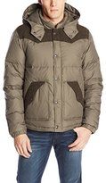 True Religion Men's Puffer Jacket with Contrast Detail
