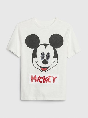 Gap GapKids | Disney Mickey Mouse Flippy Sequin T-Shirt