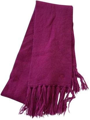 Mulberry Pink Wool Scarves