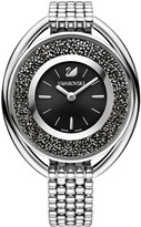 Swarovski Crystalline Oval Black Bracelet Watch