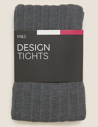 Marks and Spencer 180 Denier Heavyweight Rib Opaque Tights