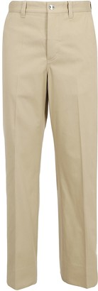 Burberry D-Ring Detail Belted Trousers