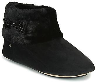 Isotoner 97280 women's Flip flops in Black