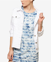 Sanctuary Guilty Pleasure White Wash Denim Jacket