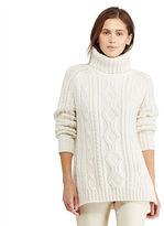Polo Ralph Lauren Aran-Knit Turtleneck Sweater