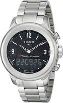 Tissot Men's T0834201105700 T-Touch Classic Analog-Digital Swiss Quartz Tactile Grey Stainless Steel Watch