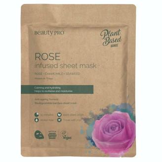 BeautyPRO Rose Infused Sheet Face Mask