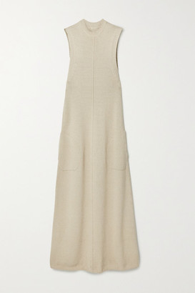 Peter Do Knitted Maxi Dress - Beige