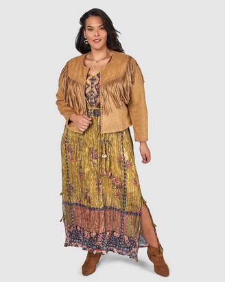 The Poetic Gypsy Tribal Love Maxi Dress