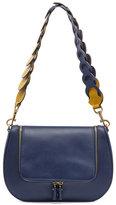 Anya Hindmarch Vere Leather Satchel Bag, Blue