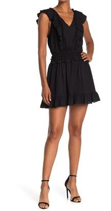 Do & Be Ruffle Detail Tiered Dress
