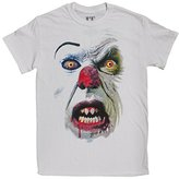 Goodie Two Sleeves Men's Pennywise the Clown Big Face T-Shirt