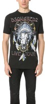 DSQUARED2 Live Tour Tee