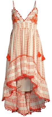 Tessora Nina Embellished High-Low Dress