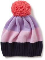 Jigsaw Colour Block Pom Hat