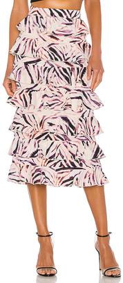 KENDALL + KYLIE Ruffle Skirt