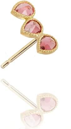 Perle de Lune Pink Tourmaline Ear Climber (Right Ear)