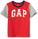 Gap Logo colorblock short sleeve tee