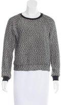 L'Agence Bouclé Metallic Sweater