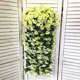 XHOPOS HOME-Fake flowers XHOPOS HOME Artificial flowers Living room bedroom violet wall mounted vine green garden Bouquet Wedding Decorations Bridal Accessories Fake Flowers