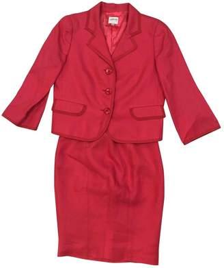 Armani Collezioni Pink Linen Skirts