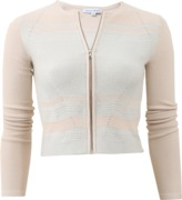 Narciso Rodriguez Cashmere Blend Zip Cardigan