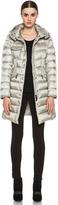 Moncler Hermine Coat in Beige