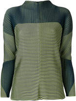 Issey Miyake relaxed fit plated sweatshirt