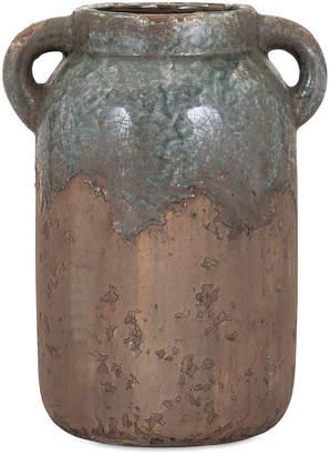 Bardot Imax Large Blue Stone Ceramic Vase