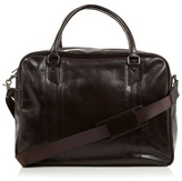 Jeff Banks Designer Dark Brown Pu Holdall Bag