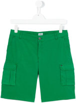 Armani Junior cargo shorts - kids - Cotton/Spandex/Elastane - 14 yrs