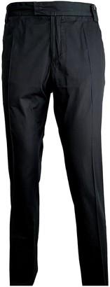 Christian Dior Black Cotton Trousers