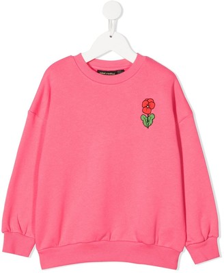 Mini Rodini Floral Print Sweatshirt