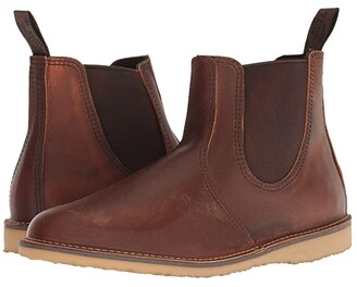 Red Wing Shoes Weekend Chelsea (Copper Rough & Tough Leather) Men's Boots