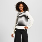 Who What Wear Women's Cozy Striped Crew