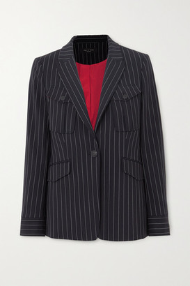 Rag & Bone Owen Pinstriped Wool-blend Blazer