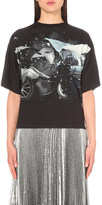 Christopher Kane Car-print stretch-jersey t-shirt