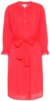 Velvet Kristy cotton midi dress