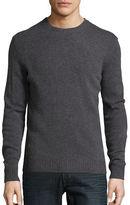 Black Brown 1826 Wool-Blend Crewneck Sweater