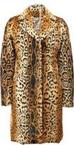 Etro Lamb Leopard Print Coat